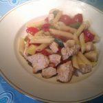 Nudeln-Puten-Paprika-Tomaten-Pfanne: Das Ergebnis