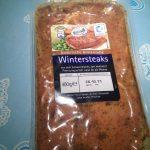 Wintersteaks: Die Verpackung