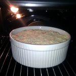 Pfannkuchen-Lasagne: Im Ofen