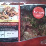 Rindergeschnetzeltes: Die Verpackung