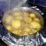 Kartoffeln beim Kochen