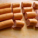 Klein geschnittene Wiener-Würstchen