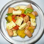 Fertiger Wurstsalat