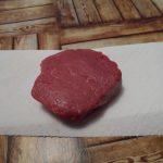 Rohes Filetsteak vom Rind